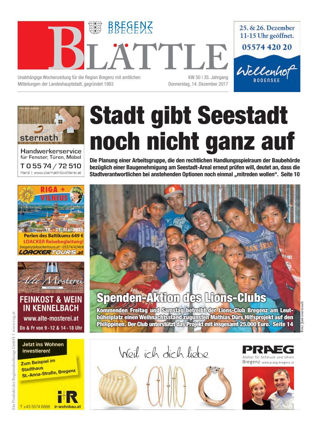 Bregenzer blättle 50 by Regionalzeitungs GmbH - issuu