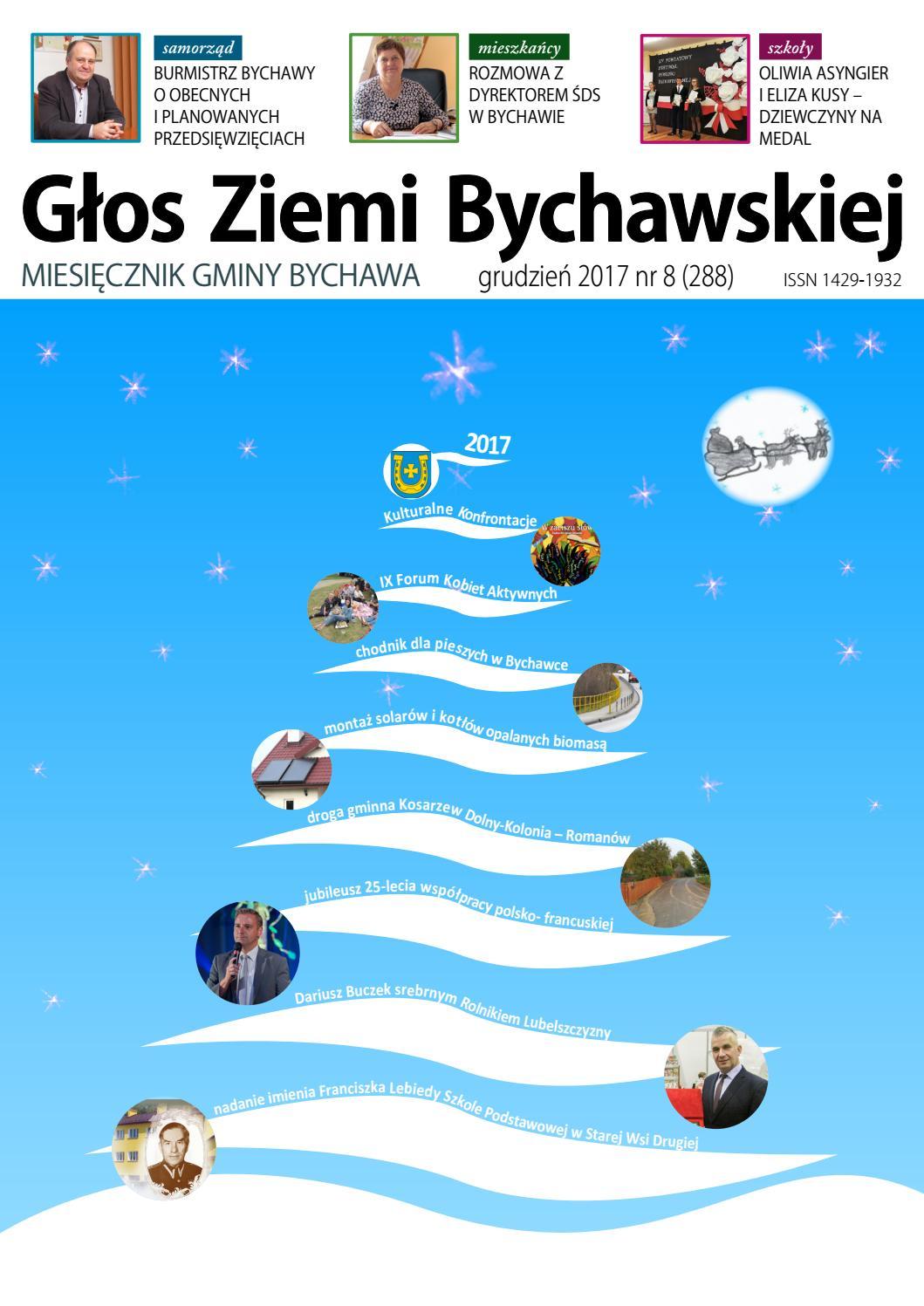 Głos Ziemi Bychawskiej - grudzień 2017 by Głos Ziemi