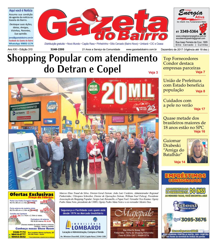 Gazeta do Bairro Dez 2017 by Gazeta do Bairro - issuu 760ee82e39