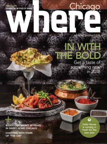 cf0f0c2a9975 Where Magazine Chicago Jan 2018 by Morris Media Network - issuu