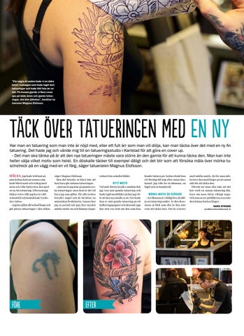 täcka över tatuering