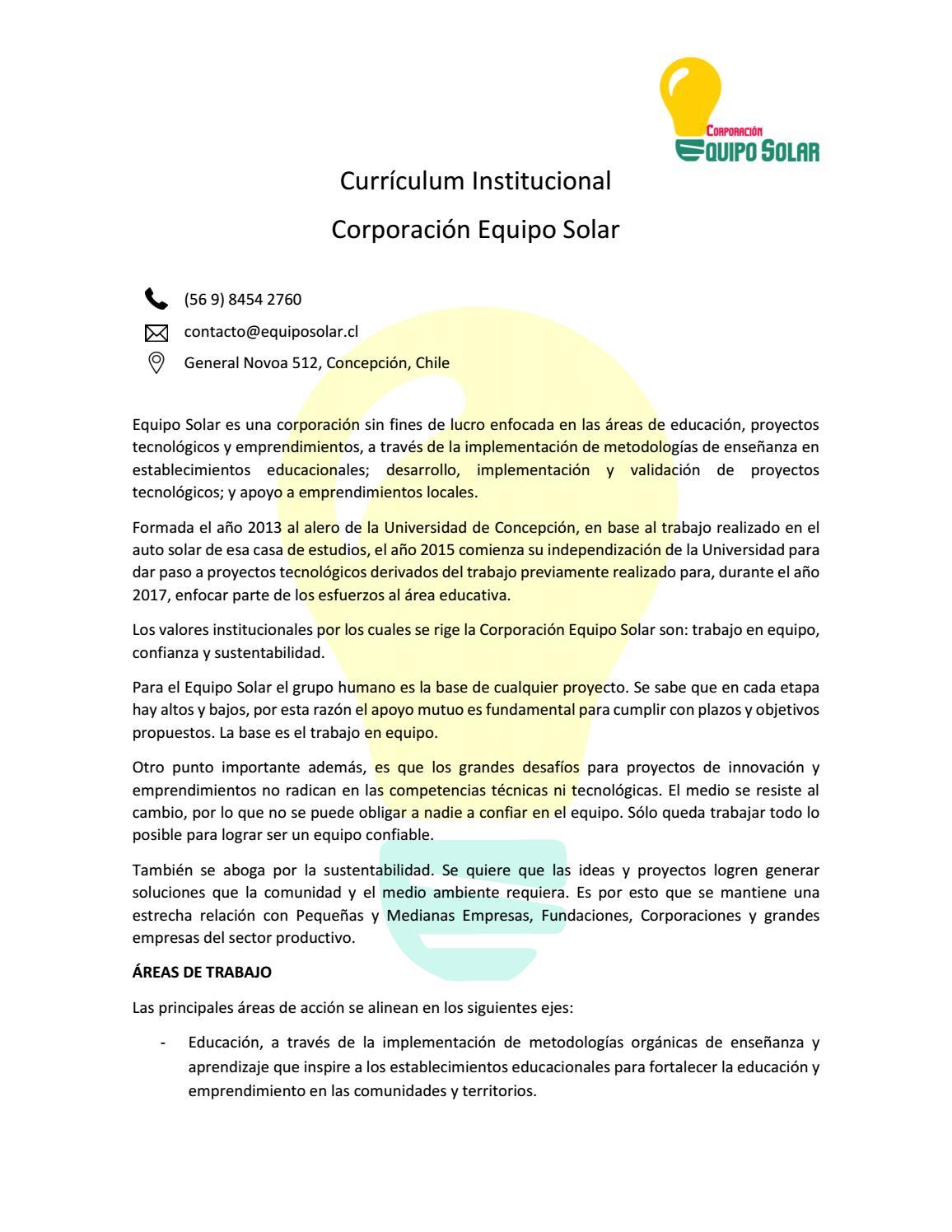 Atractivo Currículum Del Director Sin Fines De Lucro Molde - Ejemplo ...