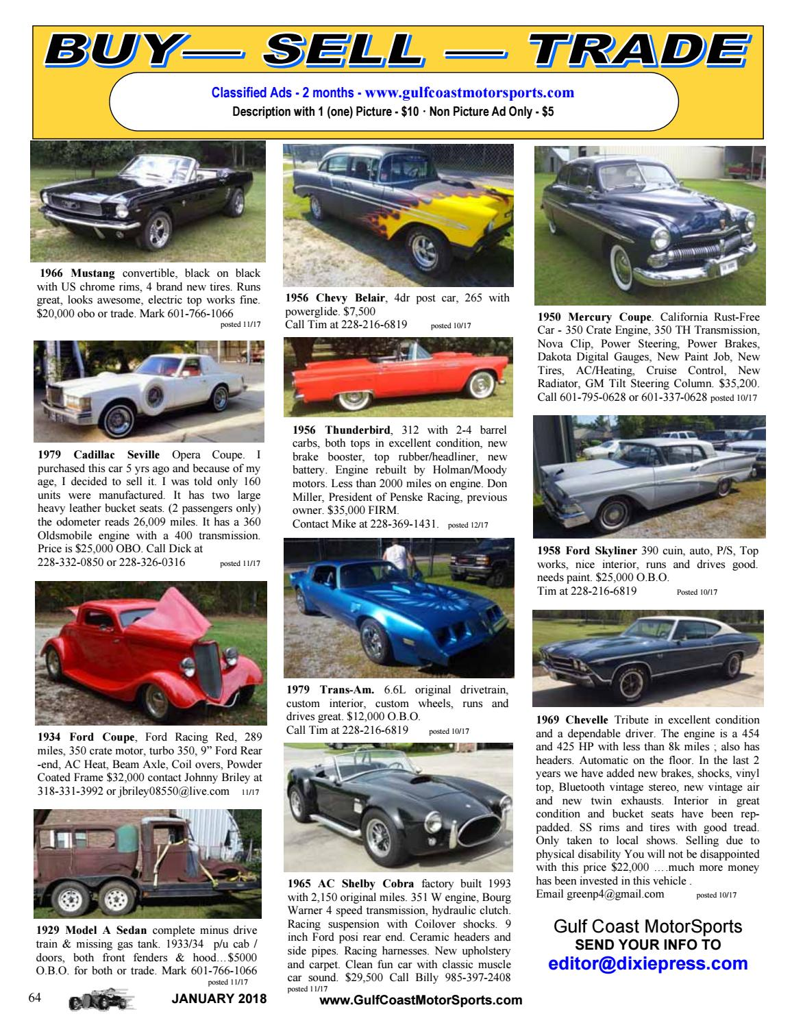 Gulf Coast MotorSports January 2018 by Jimbo Perkins - issuu