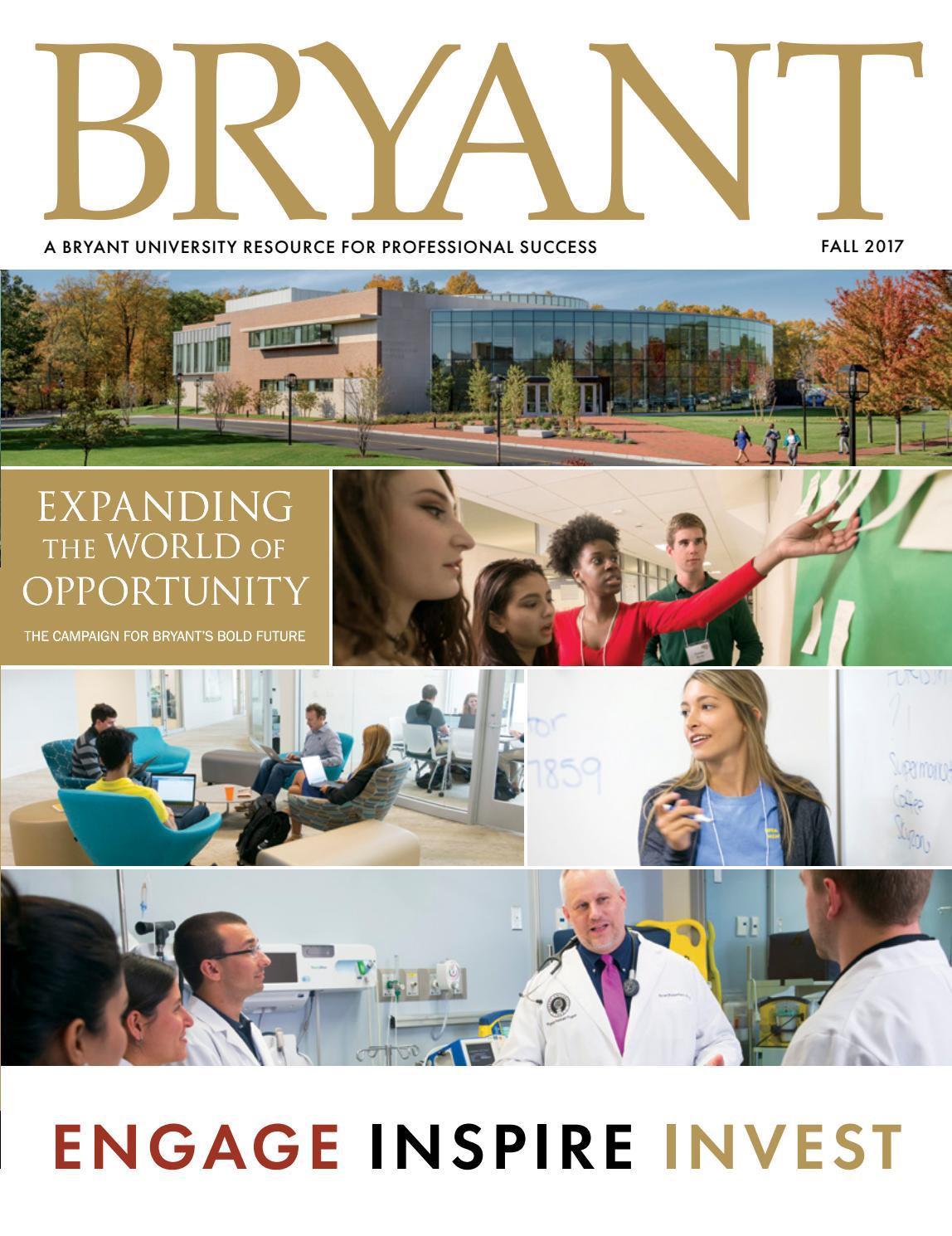 Bryant Magazine Fall 2017