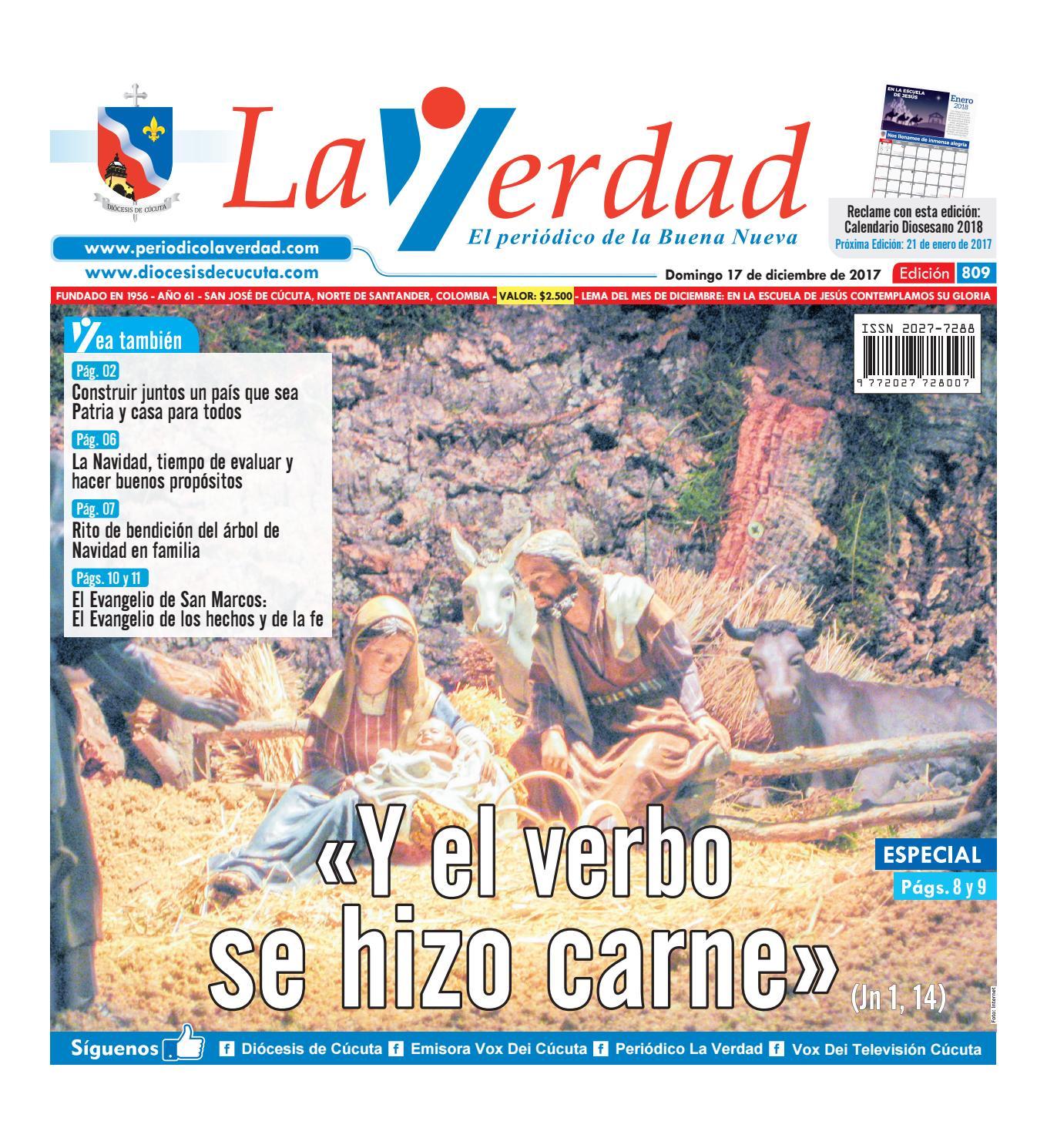 Edición 809 by La Verdad Periódico de la Buena Nueva - issuu