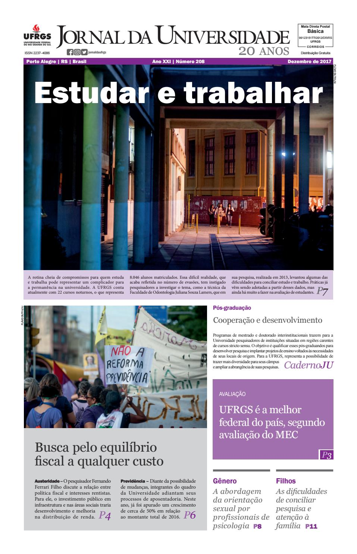 dbc7637183480 Jornal da Universidade by Universidade Federal do Rio Grande do Sul - issuu