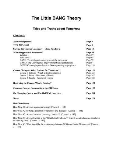 The Little BANG Theory by 17, Instituto de Estudios Críticos
