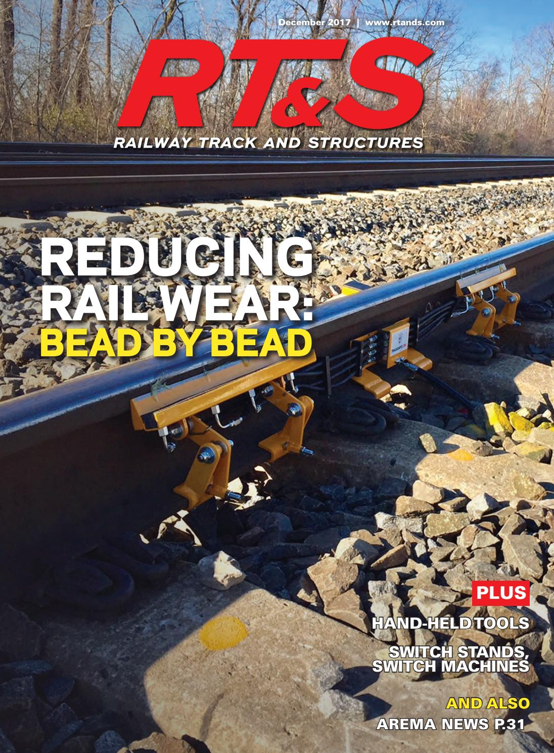 RT&S December 2017 by Railway Track & Structures - issuu