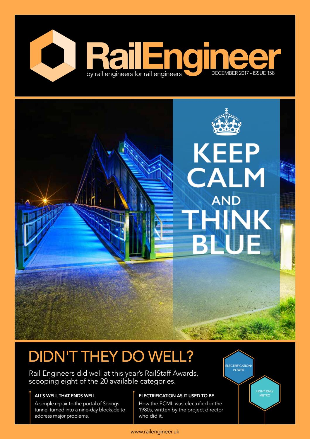 Rail Engineer Issue 158 December 2017 By Media Issuu Police Lights Circuit Electronics Forum Circuits Projects And