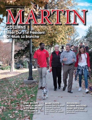 MARTIN Columns Magazine Nov 2017 by Martin Methodist College - issuu