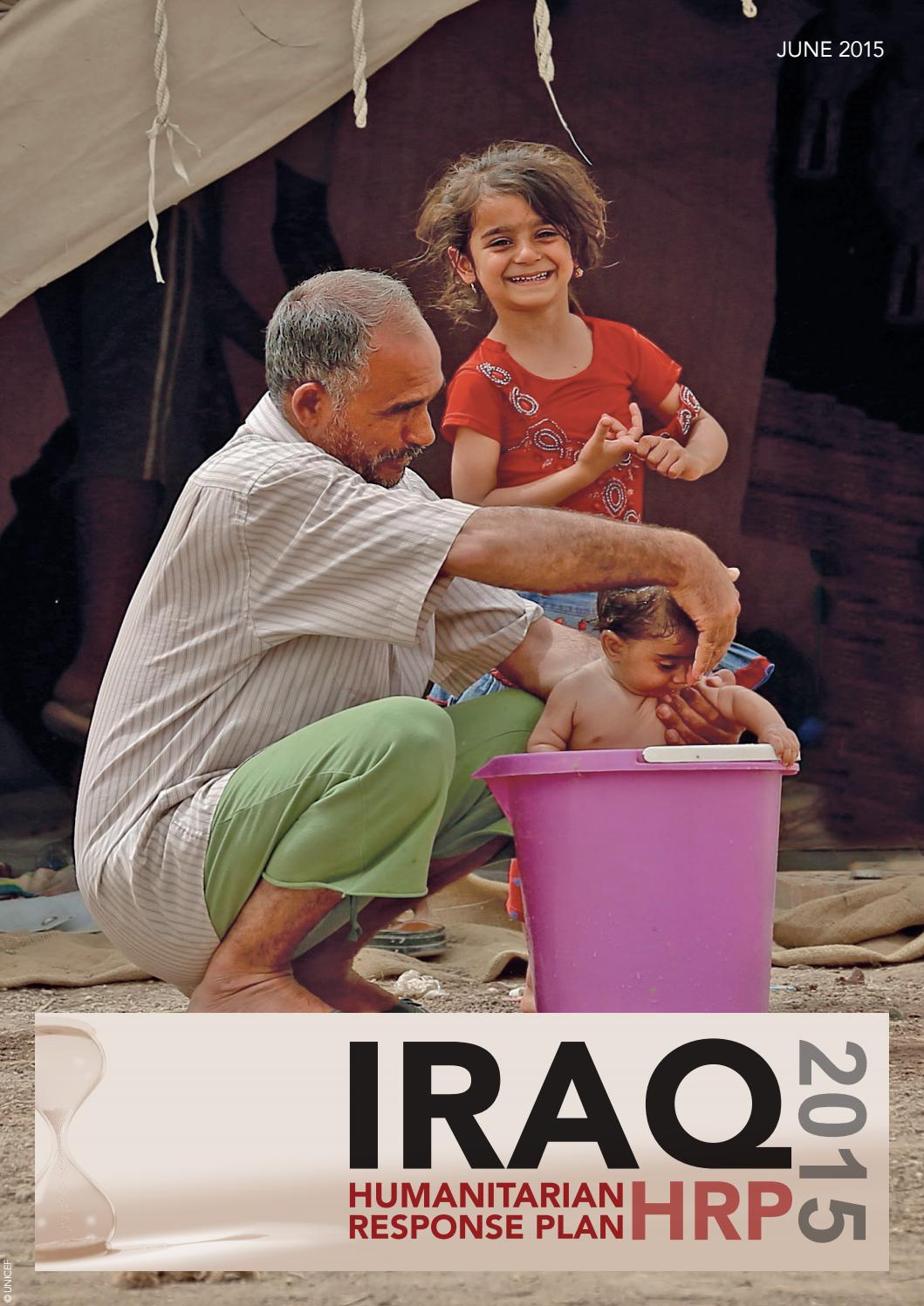 Iraq Hrp 2015 By Ocha Iraq Issuu