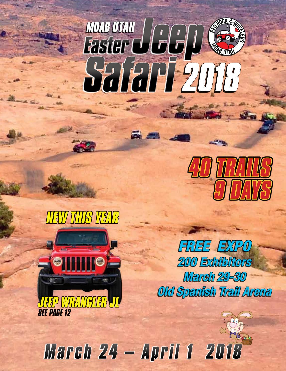 9e421f7586d Easter Jeep Safari Magazine 2018 by Red Rock 4 Wheelers - issuu