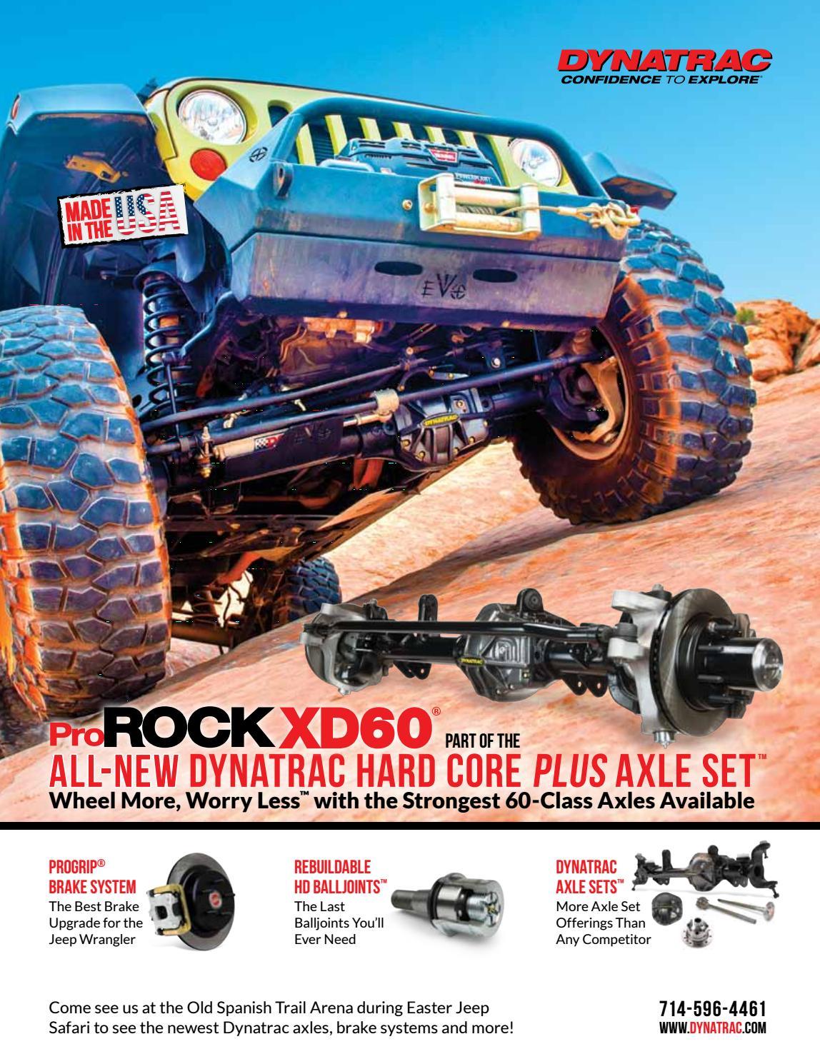 Easter Jeep Safari Magazine 2018 by Red Rock 4 Wheelers - issuu
