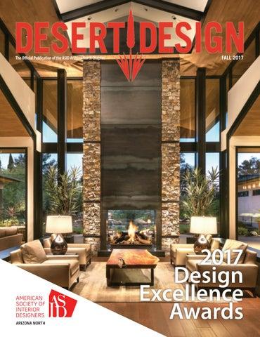 desert design magazine fall 2017 by arizona north chapter of asid