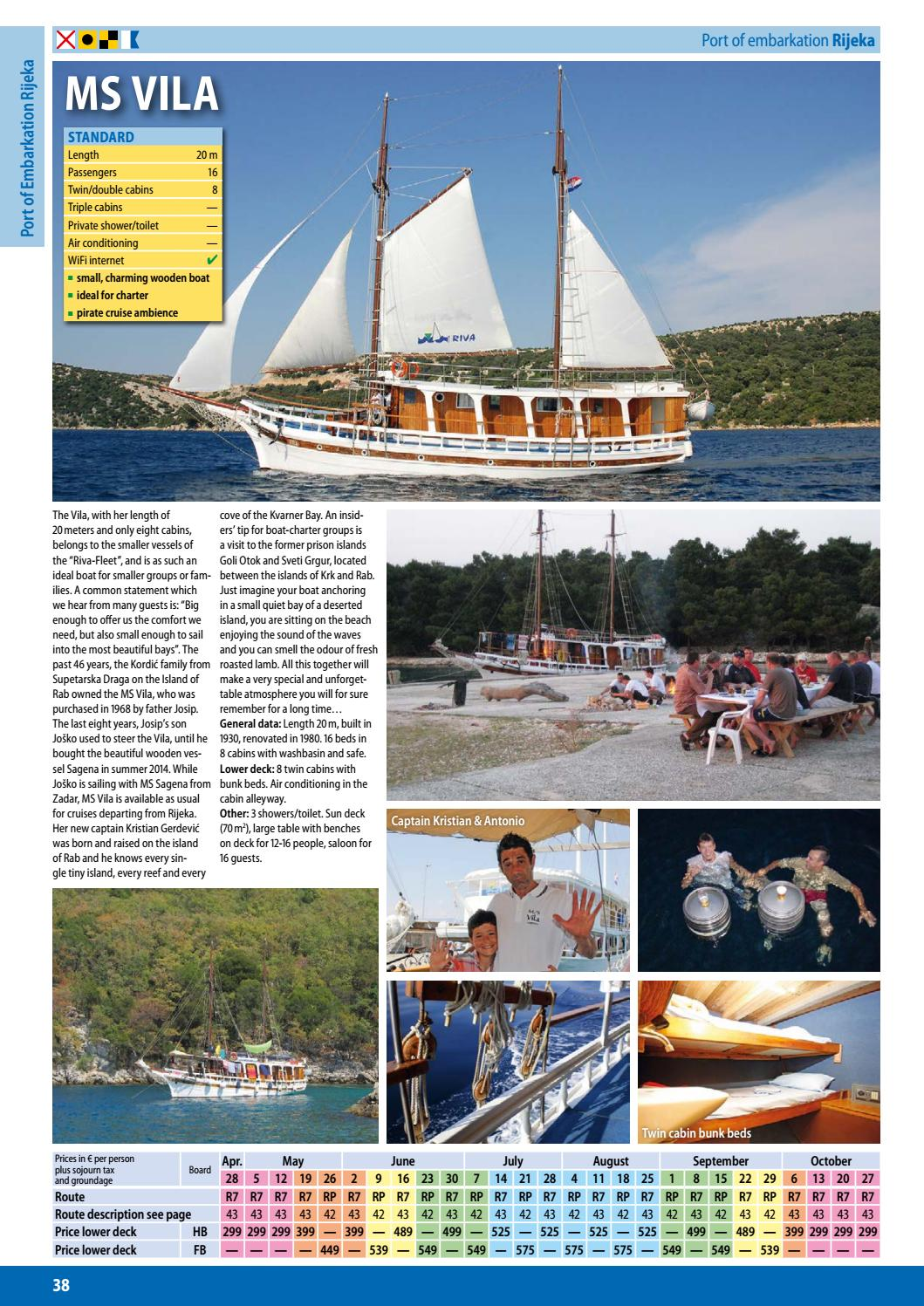 Blue Cruise Croatia 2018 by I D  Riva Tours - issuu