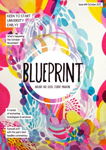 Blueprint ahs student magazine issue 9 by adelaide high school page 1 malvernweather Gallery