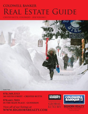 Coldwell Banker Bighorn Realty Crested Butte Real Estate Guide