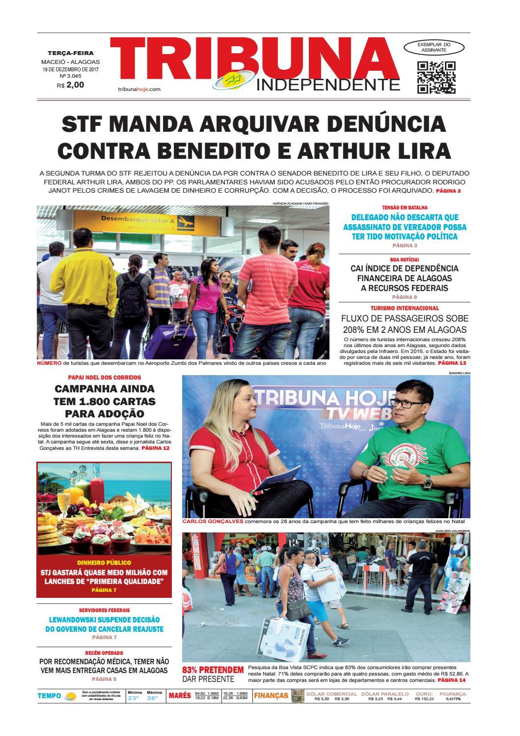 Edição número 3045 - 19 de dezembro de 2017 by Tribuna Hoje - issuu e4afe7bb095e9