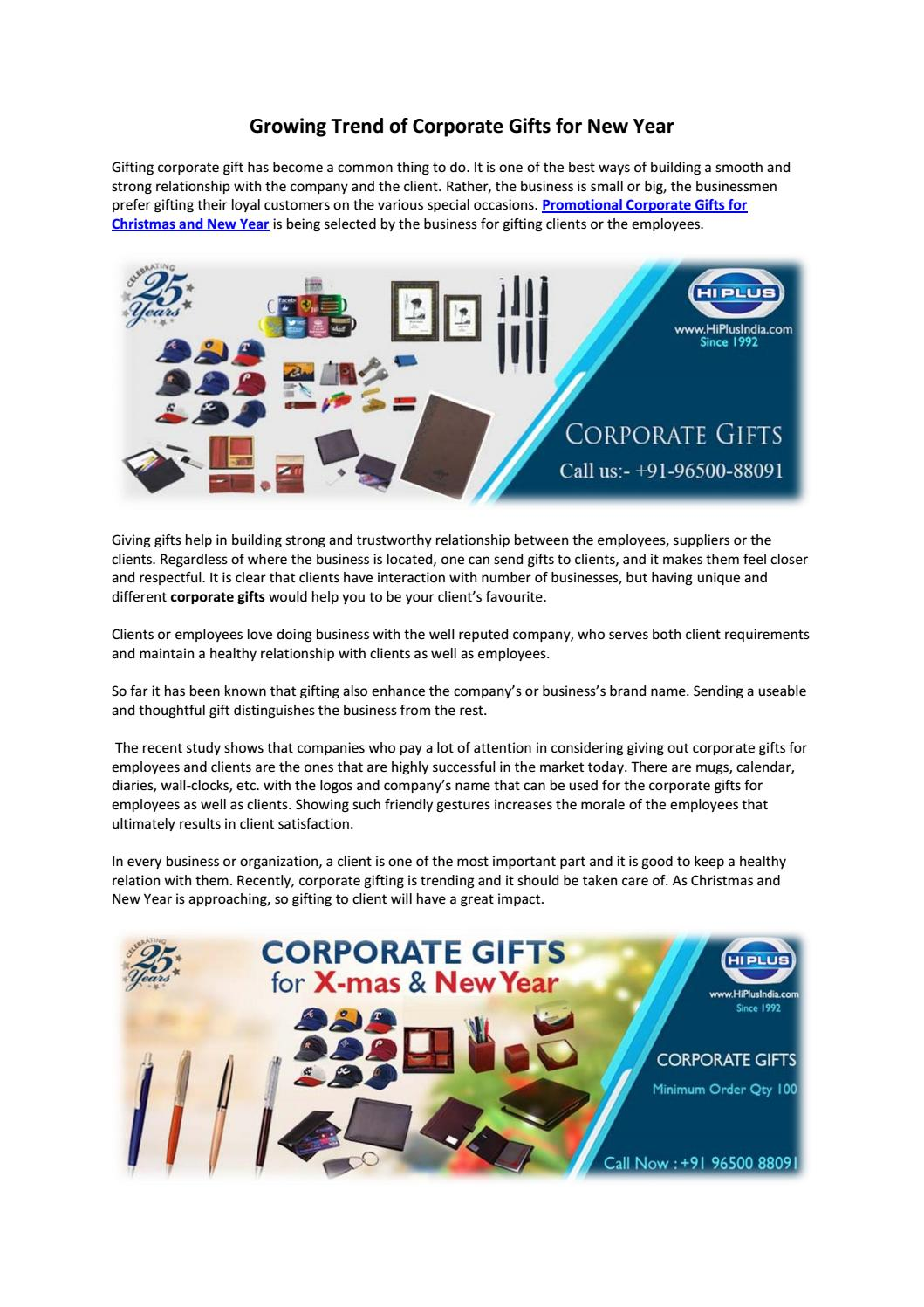 Buy Corporate Gifts with Lower Price by Hi Plus India