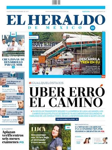 El Heraldo de México 19 de diciembre del 2017 by El Heraldo de ... d5700dbced6a1
