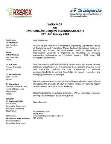 cover-letter-workshop-22-24-jan-2018 by Manav Rachn University - issuu