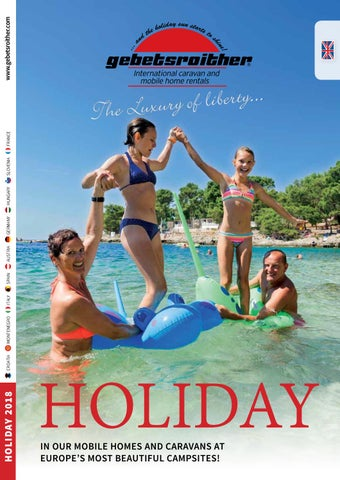 dfb994f0e747a Holiday 2018 by Gebetsroither Unternehmensgruppe - issuu