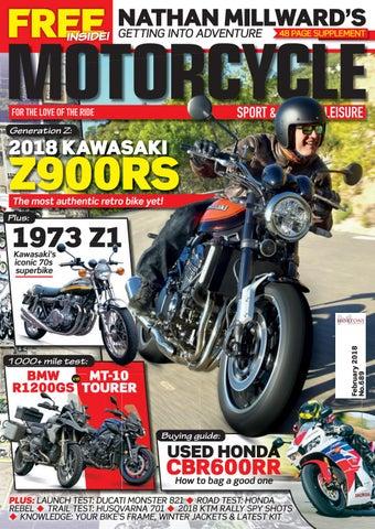 Motorcycle Sport U0026 Leisure February 2018