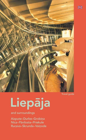 Tourism guide Liepāja and surroundings 2018 by Liepaja ...