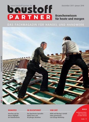 Baustoffpartner Dezember 2017 Januar 2018 By Sbm Verlag