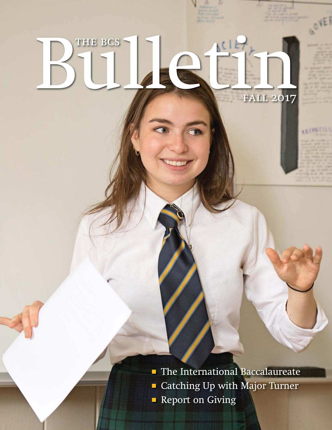 84359411d02 The BCS Bulletin Fall 2017 by Bishop s College School - issuu