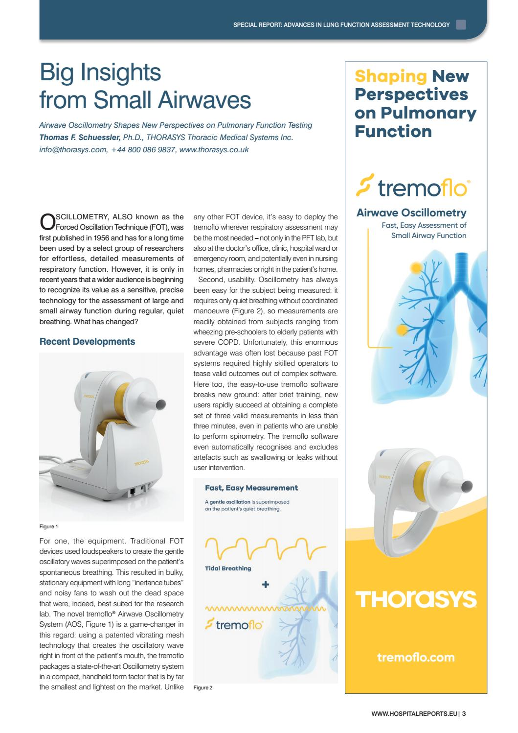 Hospital Reports Europe – Advances in Lung Function