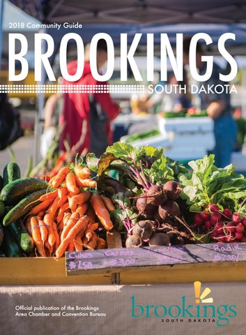 2018 Brookings Community Guide by Brookings Convention & Visitors
