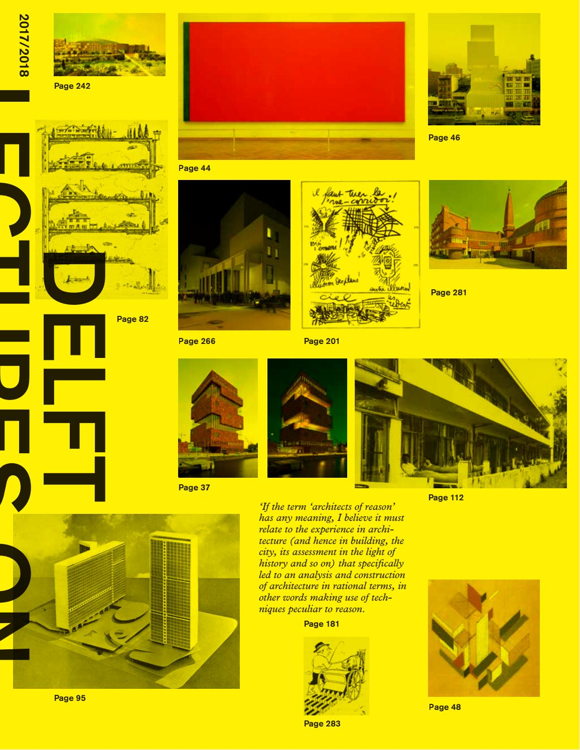 Delft Lectures on Architectural Design by Thijs Asselbergs  architectuurcentrale - issuu 84975ea0916