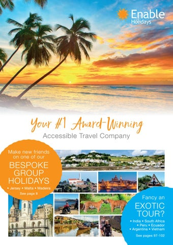 Enable Holidays Brochure 2018