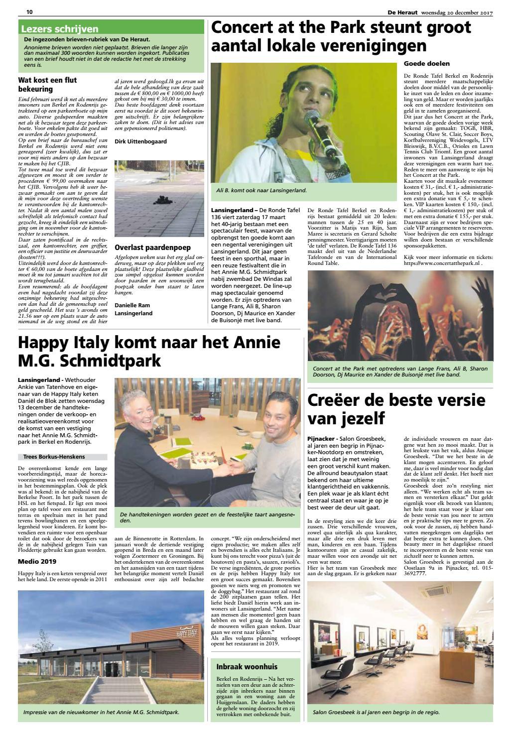 Ronde Tafel 136.Heraut Week 51 2017 By Nieuwsblad De Heraut Issuu