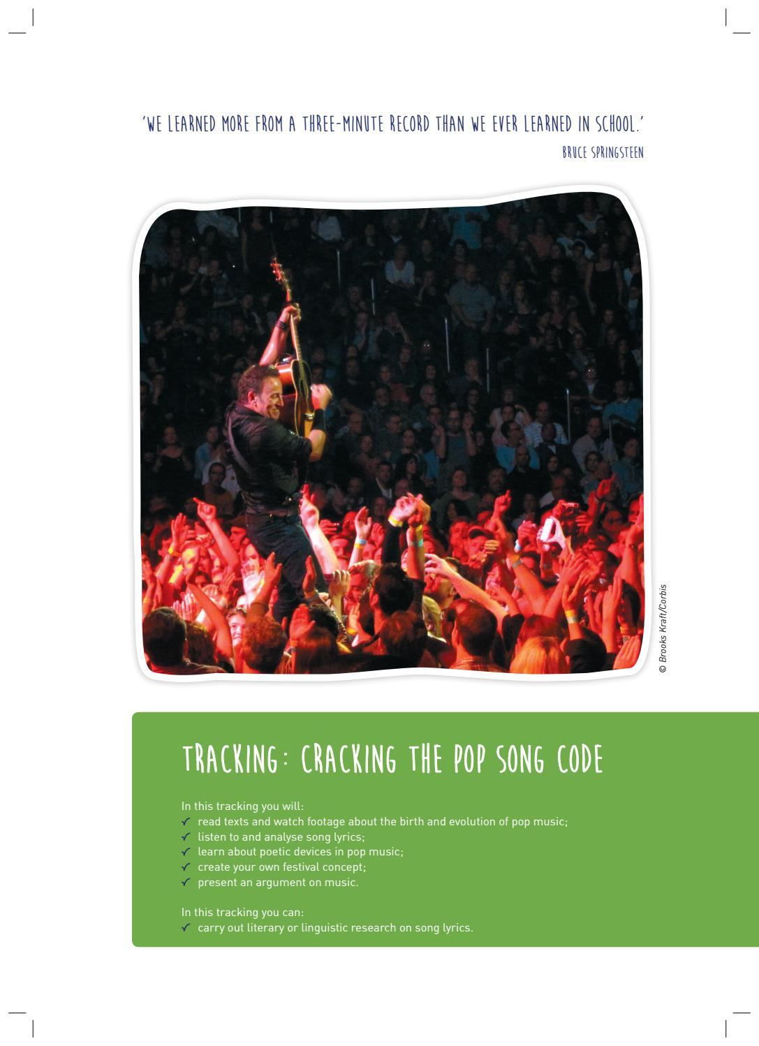 Tracking cracking the pop song code by VAN IN - issuu