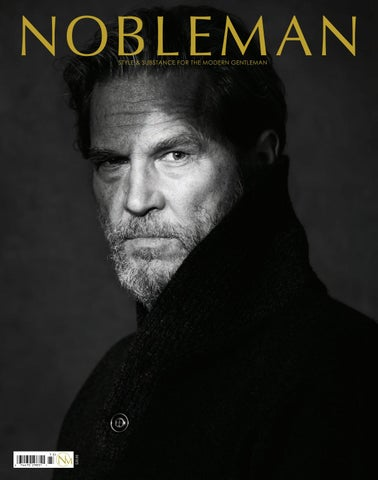 d96fa4d7 NOBLEMAN Magazine Fall/Holiday 2017 - Jeff Bridges by NOBLEMAN ...