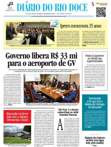 Diário do Rio Doce - Edição de 17 12 2017 by Diário do Rio Doce - issuu f738701018