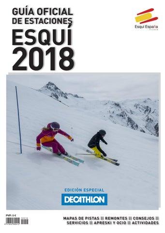 36686627ab124 Guía Oficial de Estaciones de Esquí España 2018   Edición Especial Decathlon