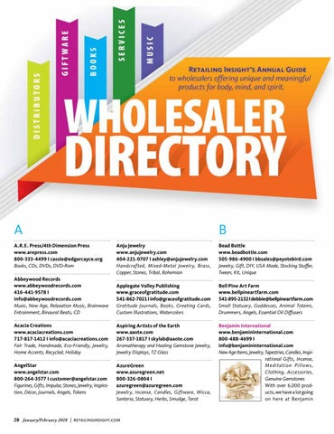 Page 30 of Wholesaler Directory