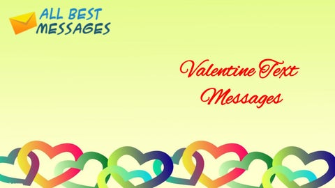 valentine text messages - Valentines Text Messages