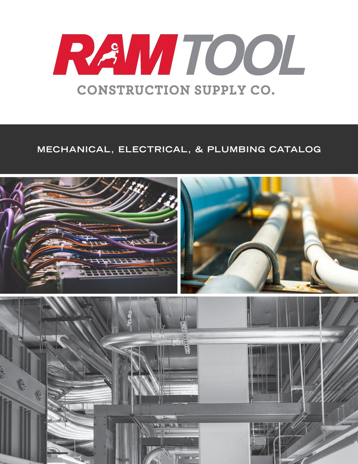 Mep Catalog By Ram Tool Construction Supply Co Issuu Spacesaving Design Simplifies Inwall Wiring And Keeps Messy Cables