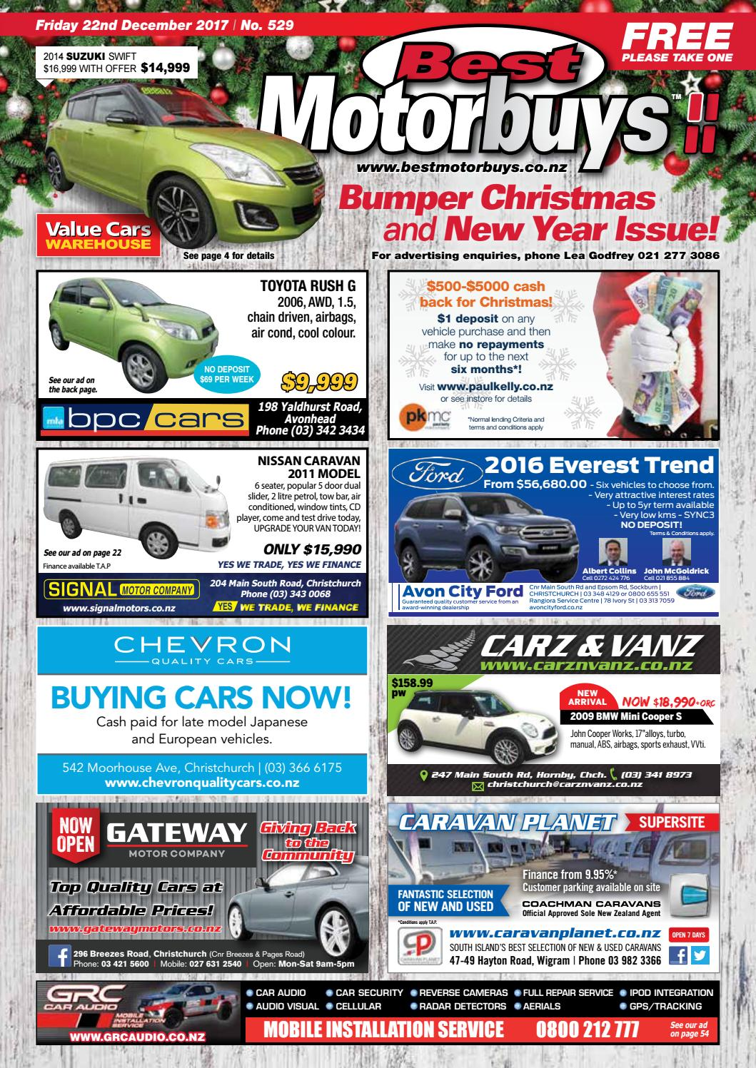 b6b3587f98 Best Motorbuys 22-12-17 by Local Newspapers - issuu