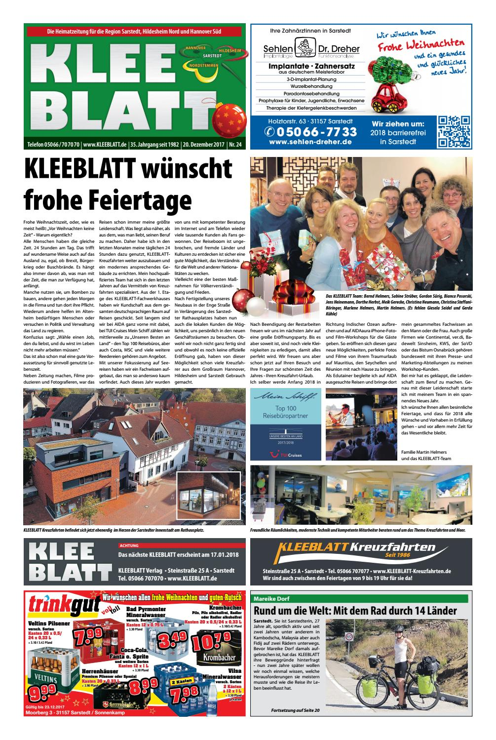 Lustige Weihnachtslieder Umgetextet.Kleeblatt 20 12 17 By Kleeblatt Verlag Issuu