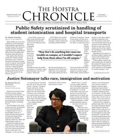 Page 1. The Hofstra