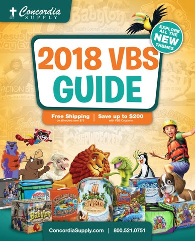 2018 Vbs Guide By Danny B Issuu