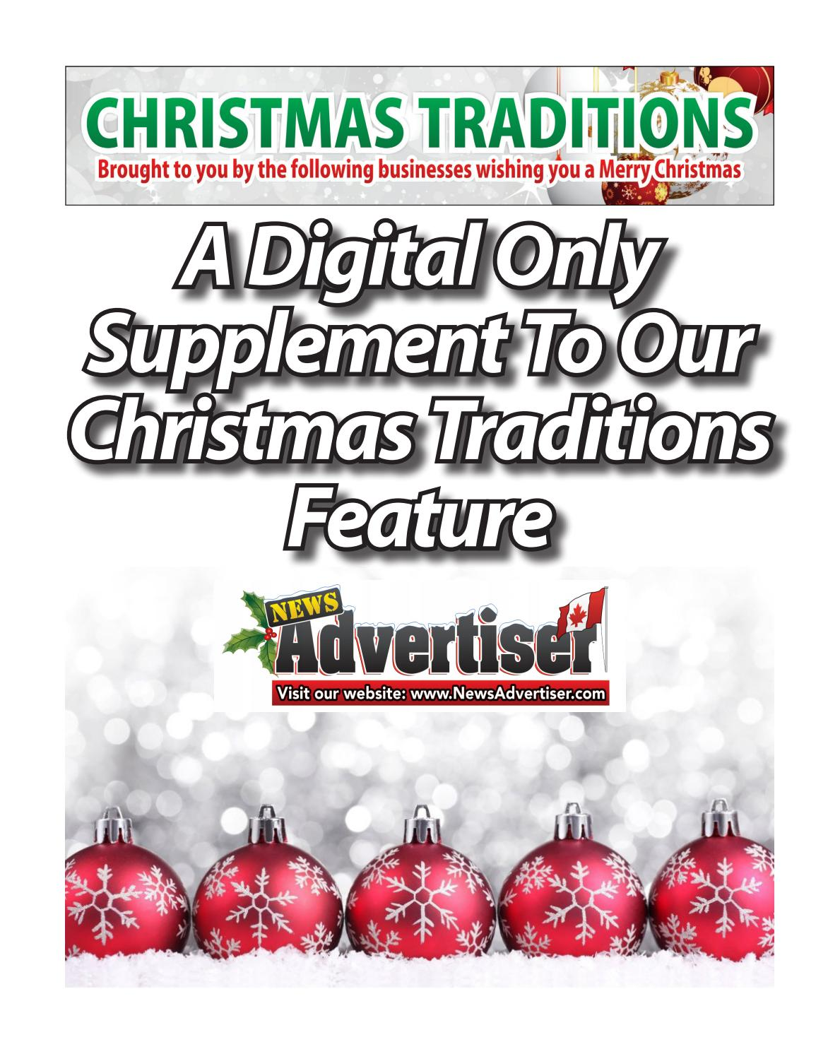 Christmas Traditions Extra - December 20, 2017 by The News ...