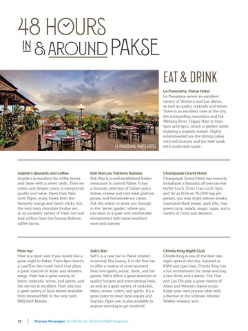 Page 10 of 48 Hours in & Around Pakse