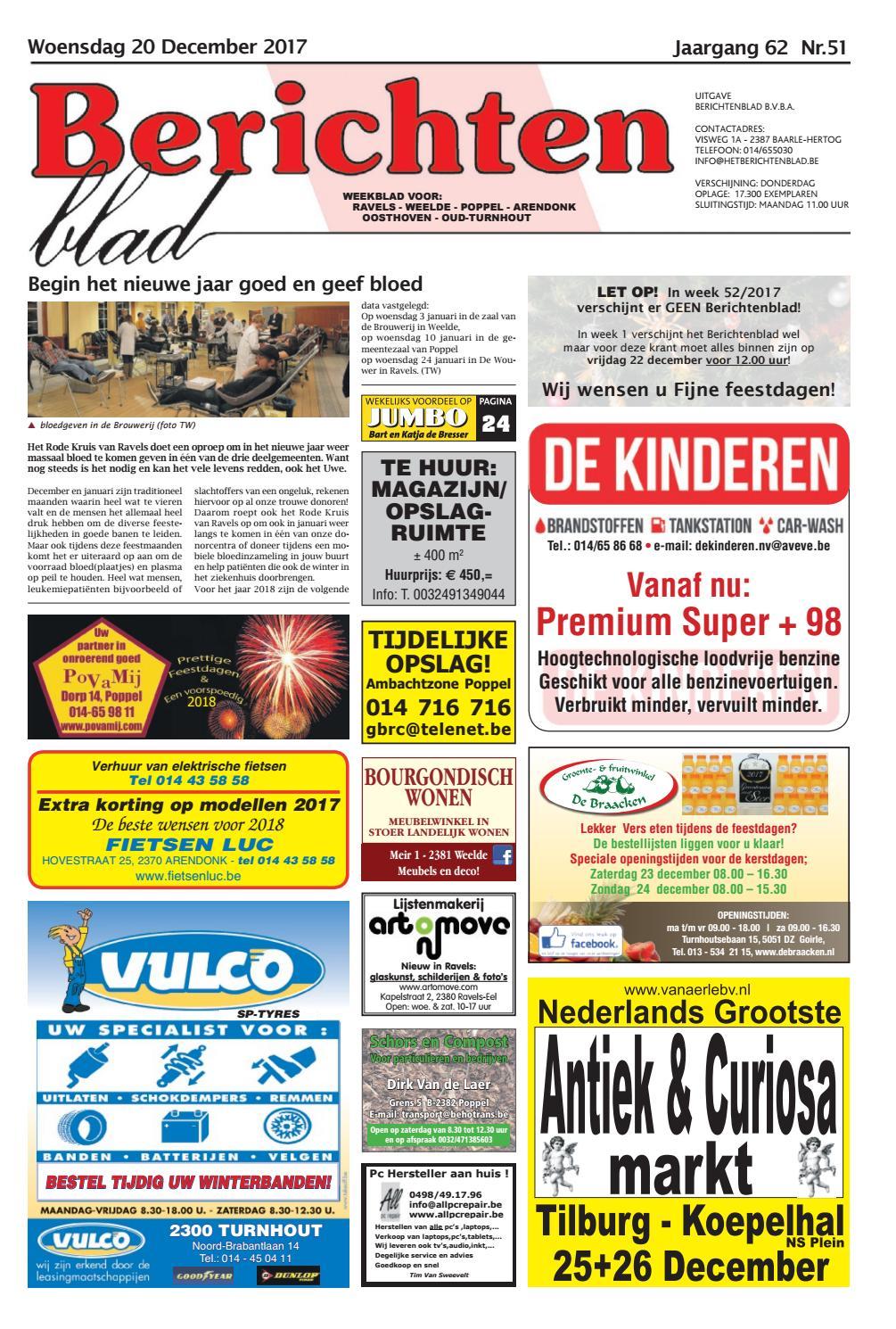 Berichtenblad 20-12-2017 by Uitgeverij Em de Jong - issuu