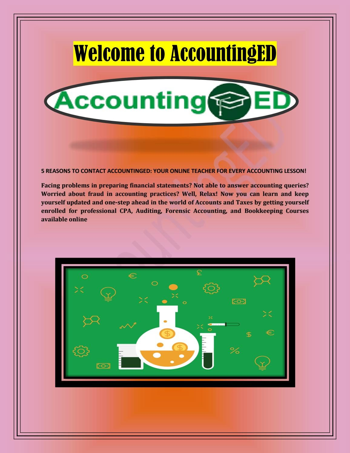 Online Accounting Fraud Courses By Accountinged Issuu